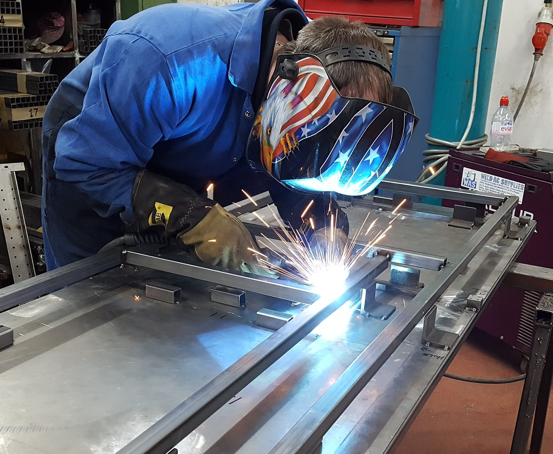 Fabrication Welding Waterjet Cutting Benthams