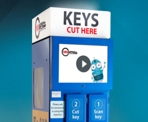 MyKey Machine developed by Benthams