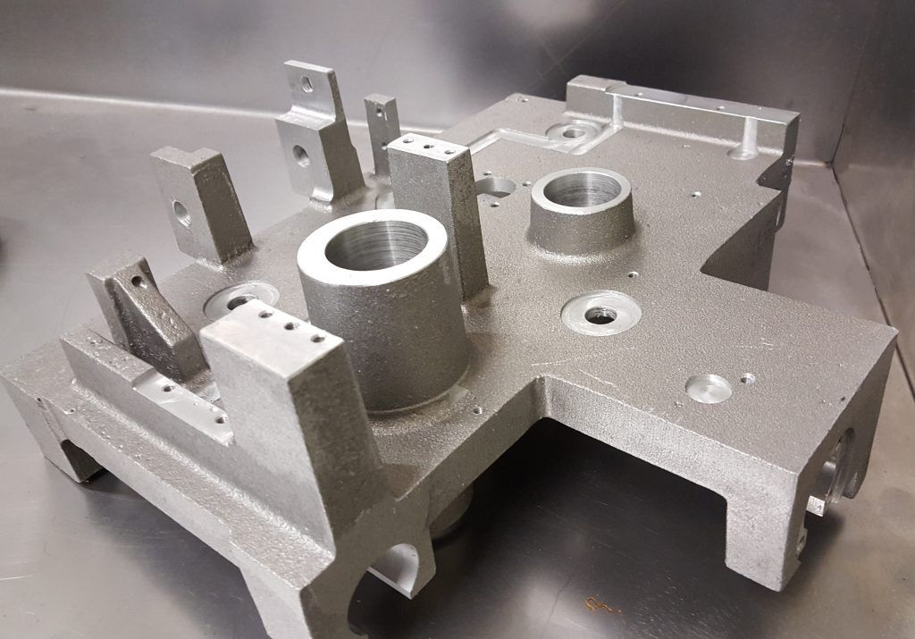 Precision engineering of machined components.